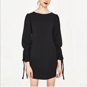 Zara body con long sleeve dress size m